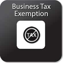 business tax exemption form